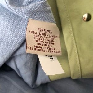 Dri Duck Jackets & Coats - DriDuck Dri Duck Light Sage Green Jacket Size L